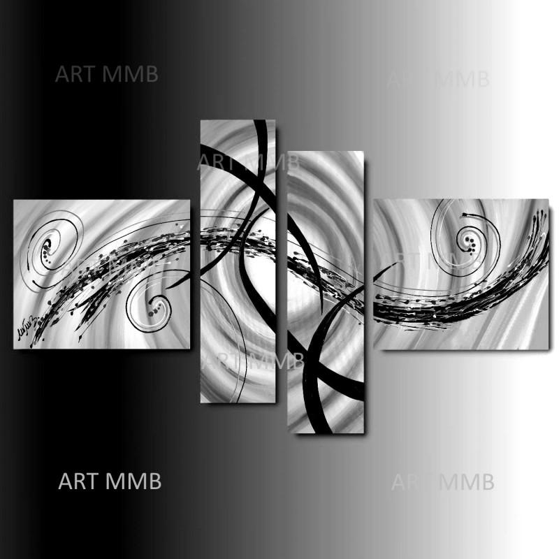 4 Quadri Moderni Astratti \