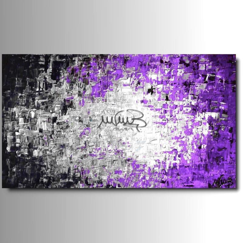 1 quadri moderni astratti rio lilla viola for Quadri astratti rossi