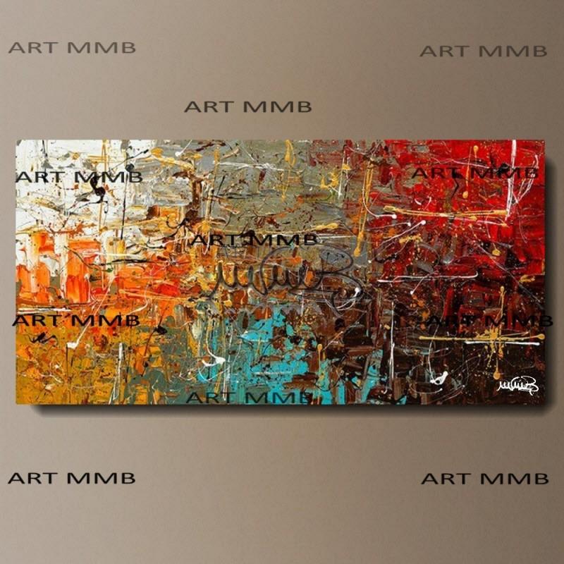 Quadri moderni astratti dipinti a mano art mmb quadri for Quadri moderni in verticale