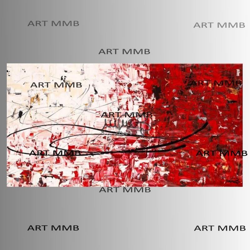 Quadri moderni astratti dipinti a mano art mmb quadri for Quadri astratti rossi