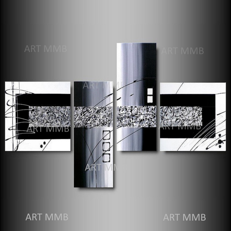 quadri moderni astratti dipinti a mano ART MMB QUADRI TRITTICO ARTE